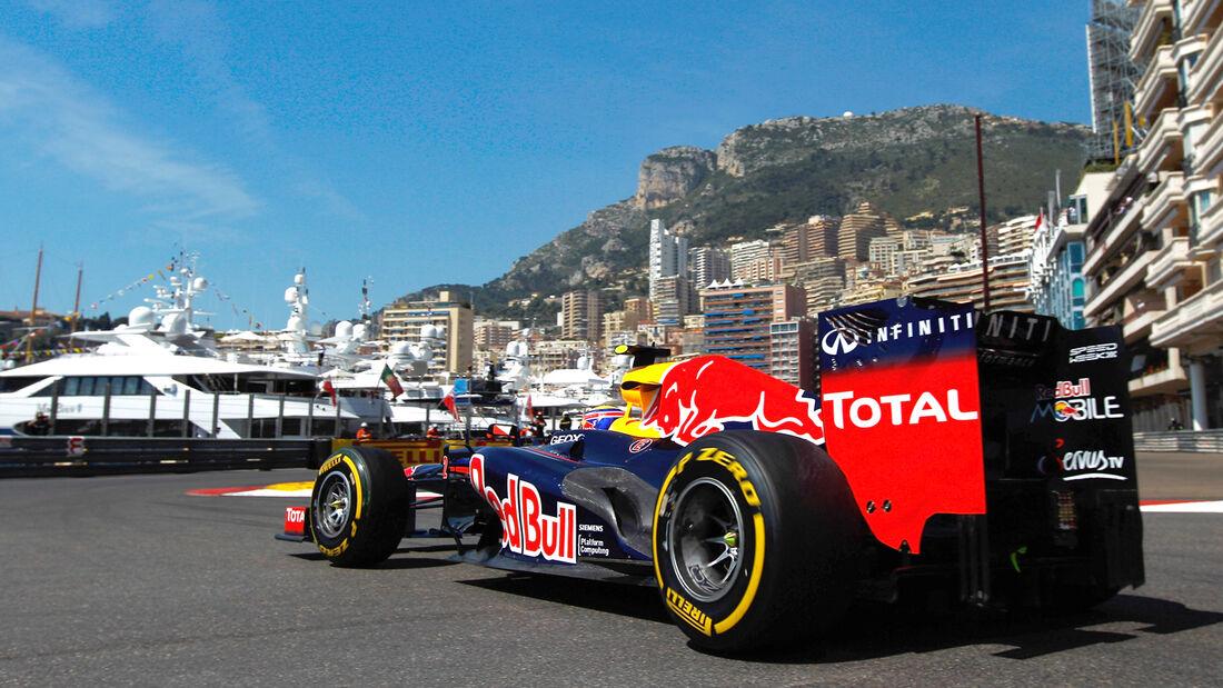 Mark Webber Red Bull GP Monao 2012
