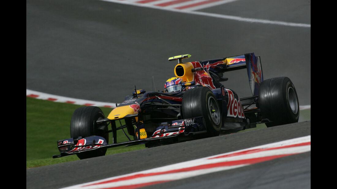 Mark Webber - Red Bull RB6 - GP Belgien 2010