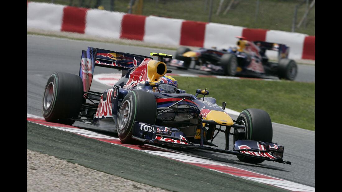 Mark Webber - Red Bull RB6 - GP Spanien 2010