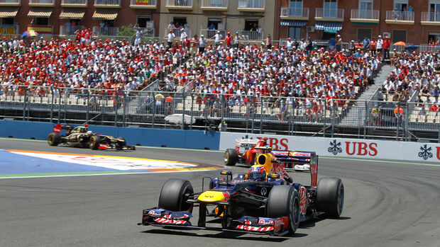 Mark Webber - Red Bull RB7 - GP Europa 2012 - Valencia