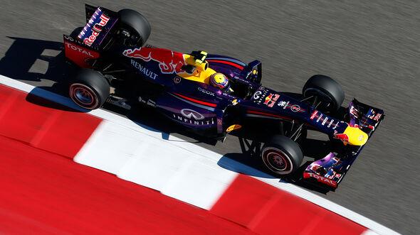 Mark Webber - Red Bull RB9 - GP USA 2013