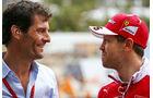 Mark Webber & Sebastian Vettel - Formel 1 - GP Australien - Melbourne - 18. März 2016