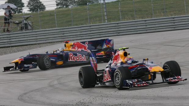 Mark Webber - Sebastian Vettel - Red Bull - GP Türkei 2010 - Istanbul