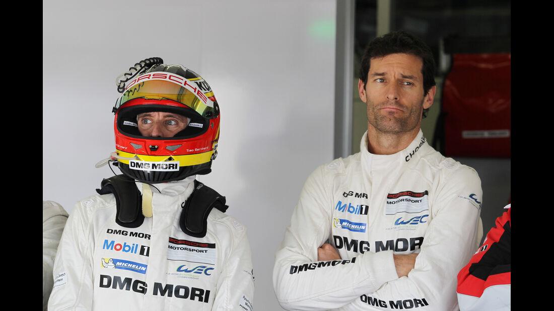 Mark Webber & Timo Bernhard - Porsche 919 Hybrid - LMP1 - WEC Test Paul Ricard - Le Castellet - 2014
