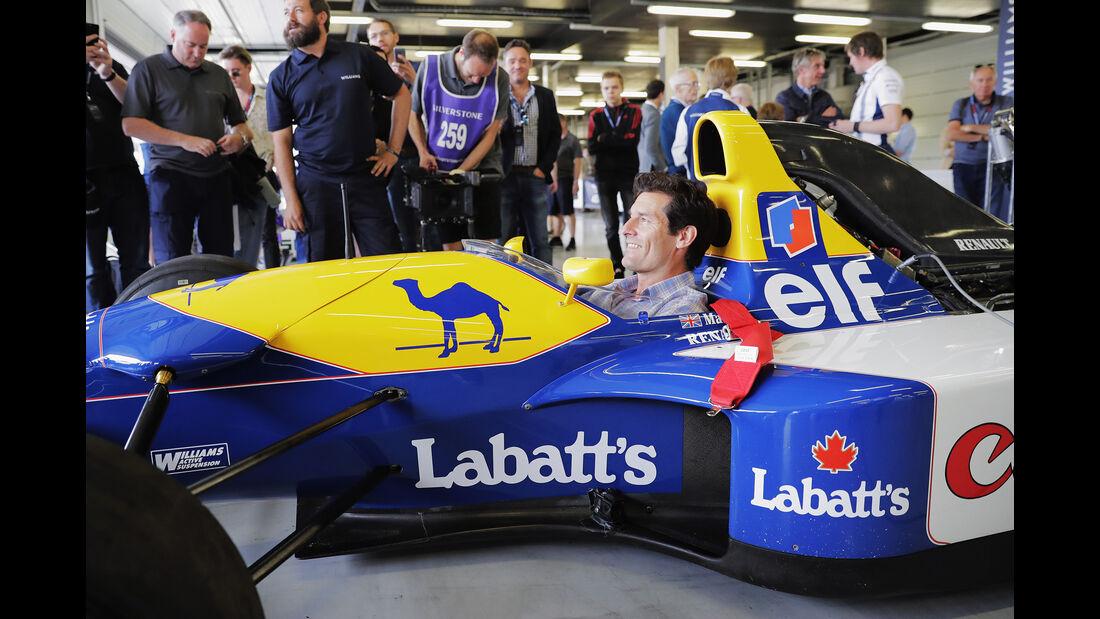 Mark Webber - Williams Renault FW14B - Williams-Jubiläum - Silverstone - 2017