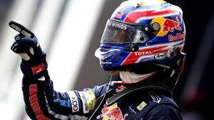 Mark Webber beim GP Türkei 2010