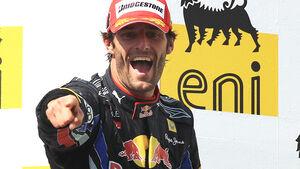 Mark Webber gewinnt in Budapest