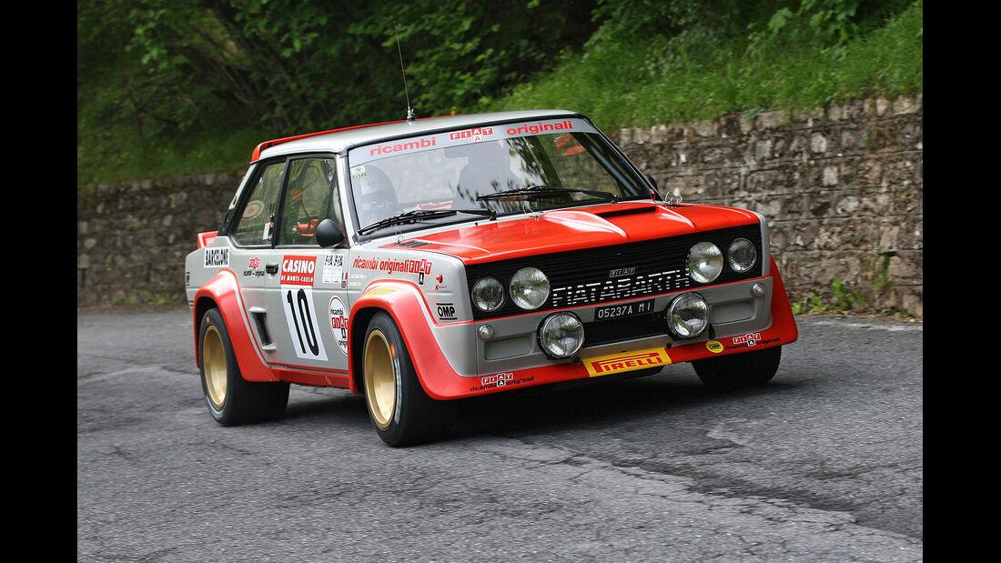 Markku Alén im Fiat 131 Abarth.