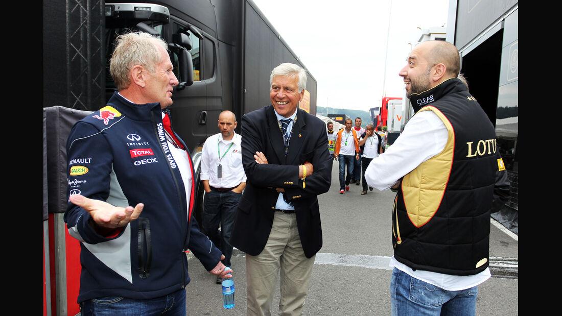 Marko & Lopez - Formel 1 - GP Belgien - Spa-Francorchamps - 24. August