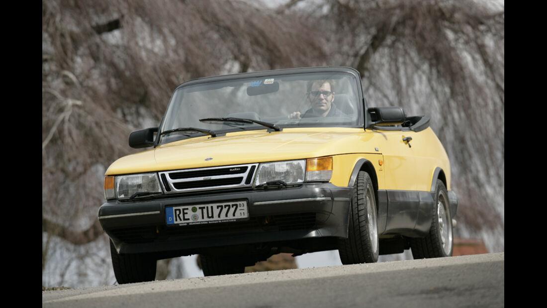 Marktspiegel, Saab 900 Turbo S16V Cabrio – Reihenvierzylinder, 1985 cm3, 185 PS bei 5700/min, 210 km/h