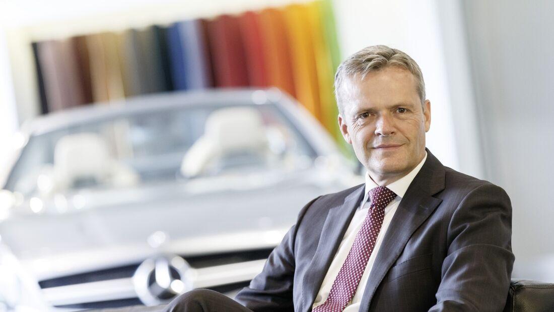 Markus Schäfer, Mitglied des Bereichsvorstandes Mercedes-Benz Cars, Produktion und Supply Chain Management.