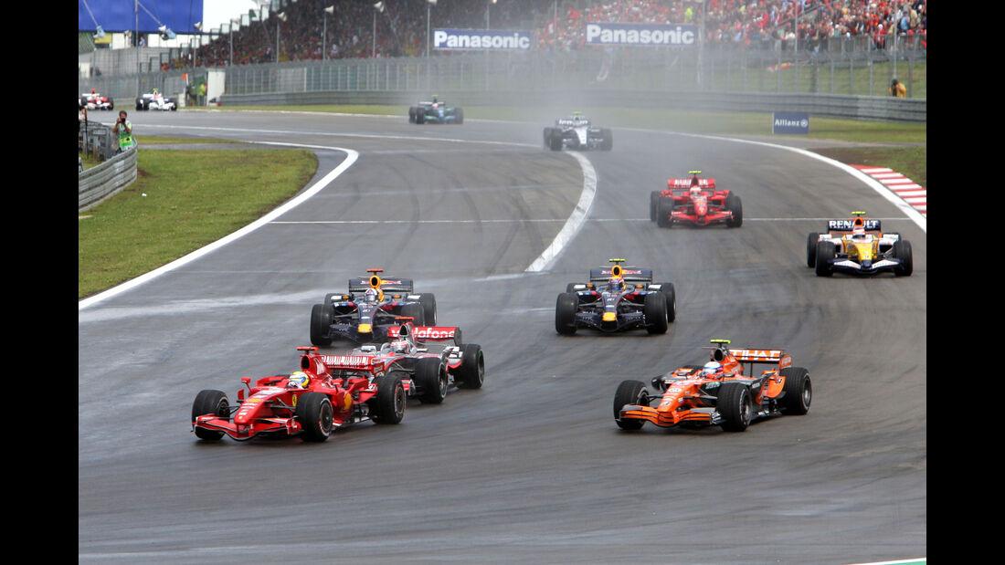Markus Winkelhock - Spyker F8-VII - Nürburgring 2007