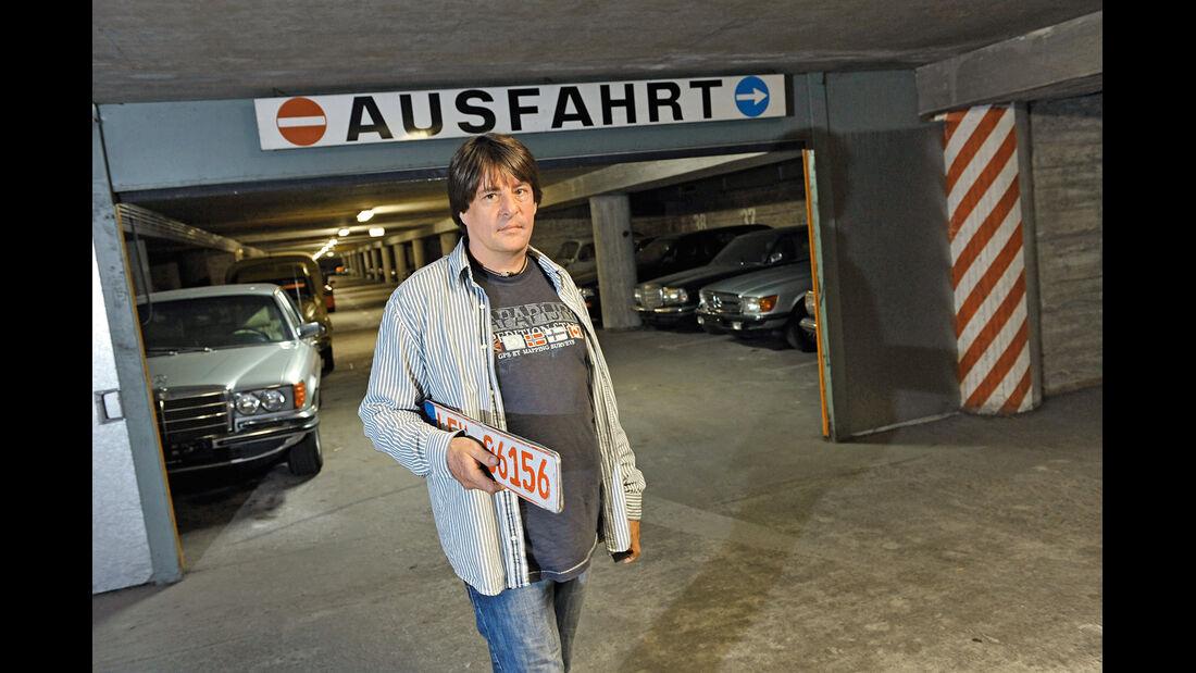 Markus Zimmermann, Ausfahrt, Garage