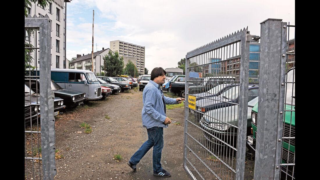 Markus Zimmermann, Eingang, Werksgelände