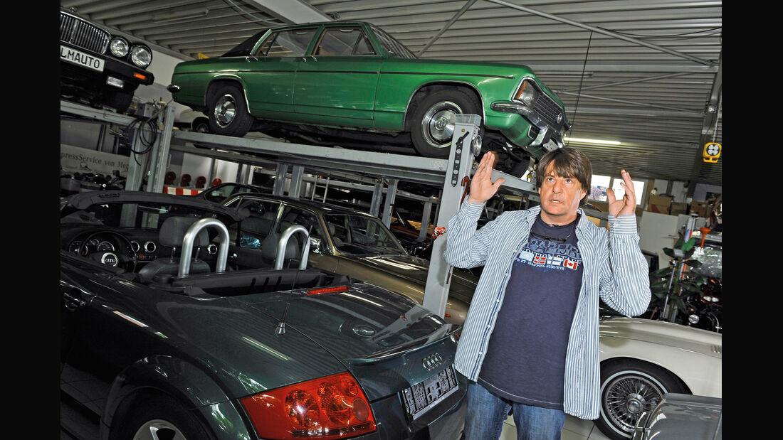 Markus Zimmermann, Filmautos, Halle