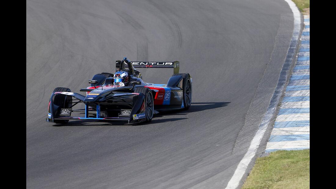 Maro Engel - Venturi - Formel E Test - Donington - 2016