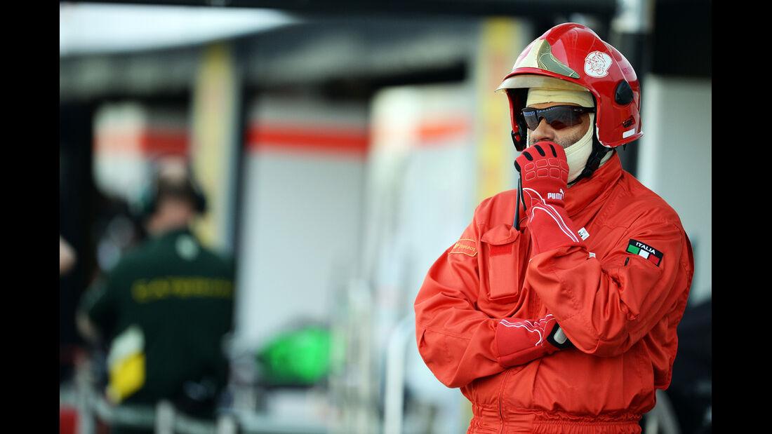 Marshal - Formel 1 - GP Italien - 6. September 2013
