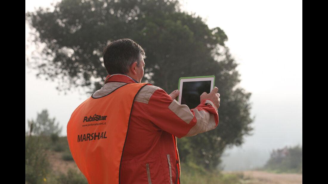 Marshall Rallye Italien 2012 WRC