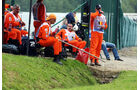 Marshalls - Formel 1 - GP Belgien - Spa-Francorchamps - 24. August