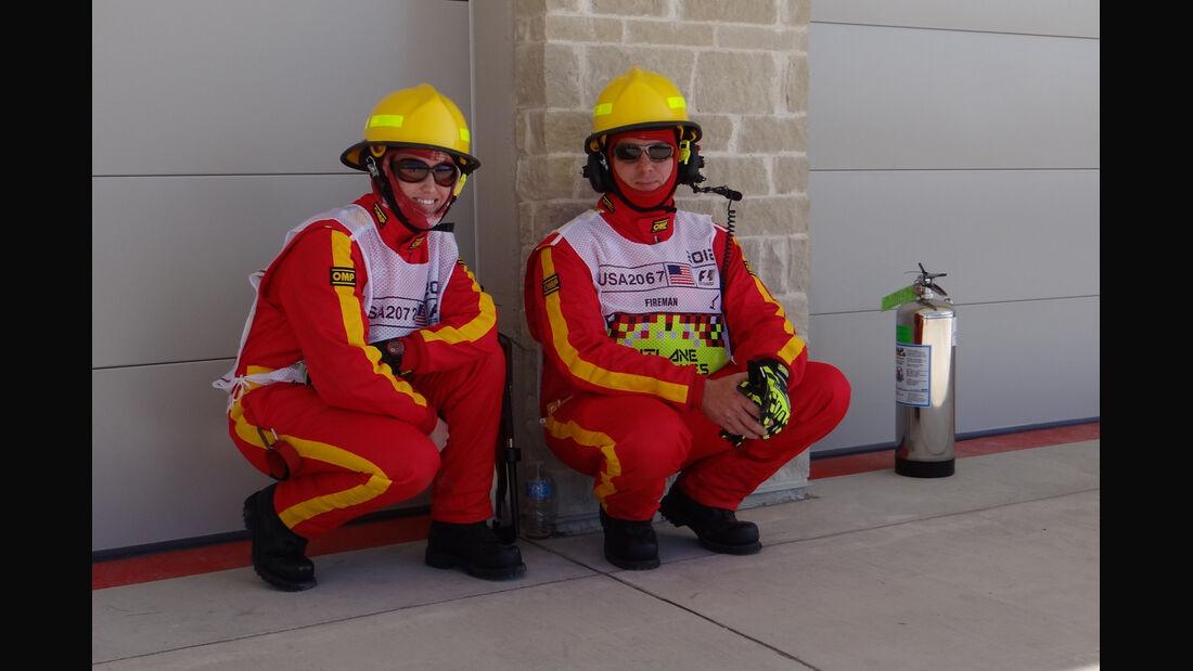Marshalls - Formel 1 - GP USA - Austin - 16. November 2012