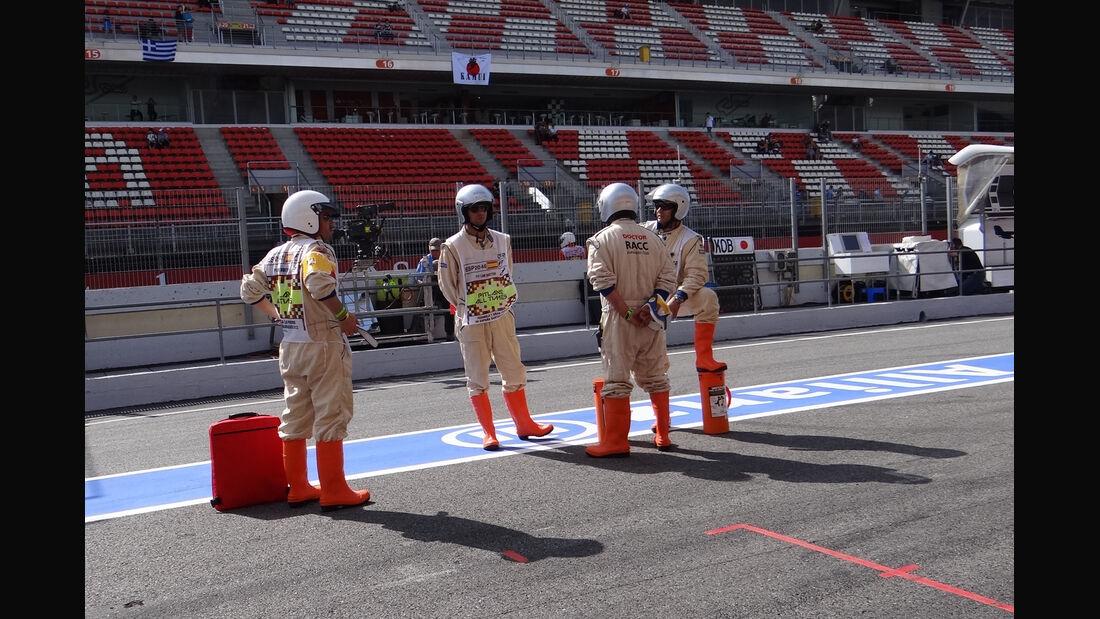 Marshalls - GP Spanien - 12. Mai 2012