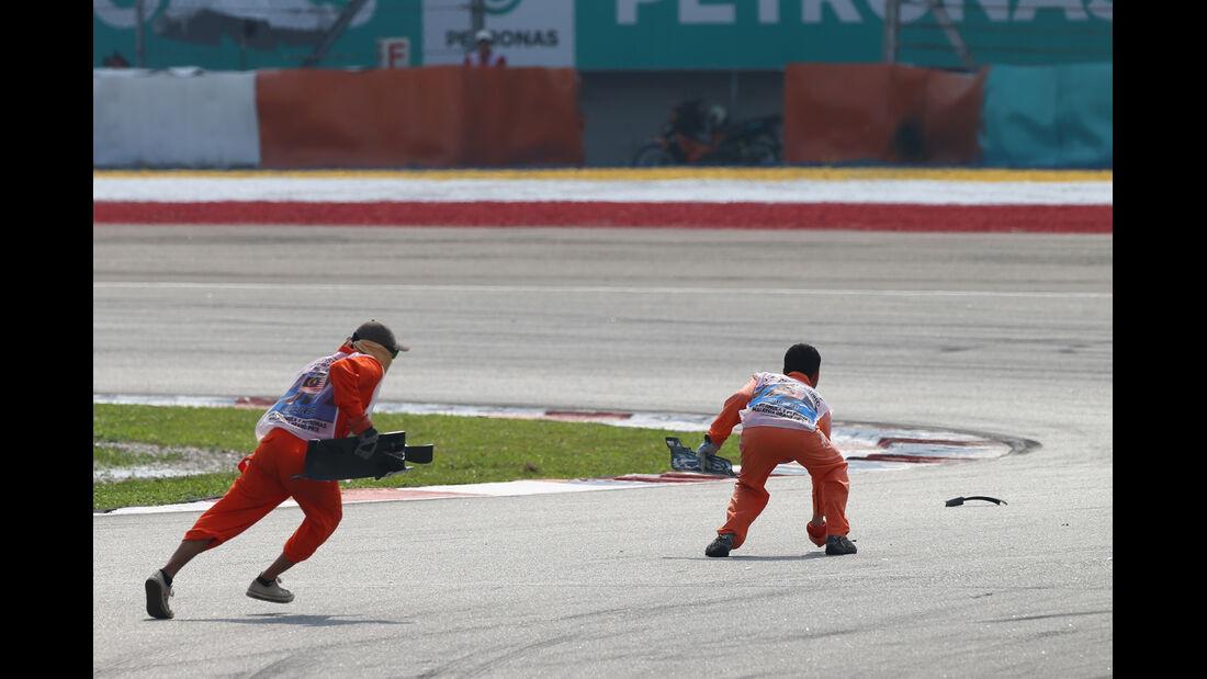 Marshals - GP Malaysia 2014