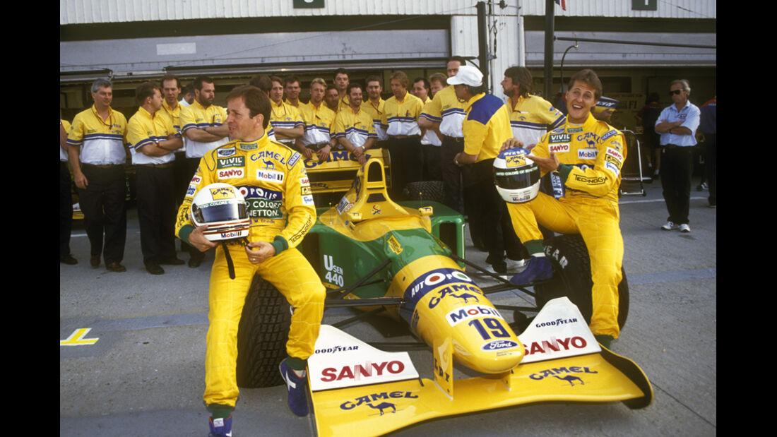 Martin Brundle 1992