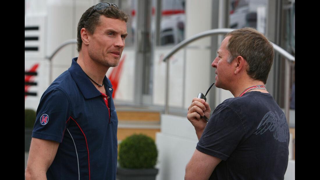 Martin Brundle & David Coulthard