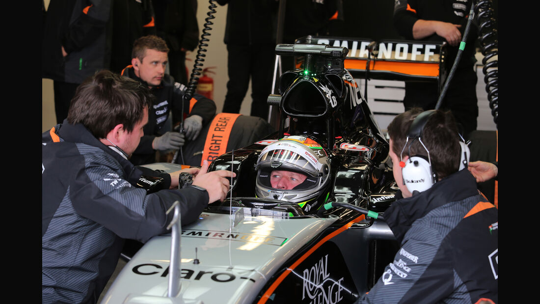 Martin Brundle - Force India - Silverstone - 2015