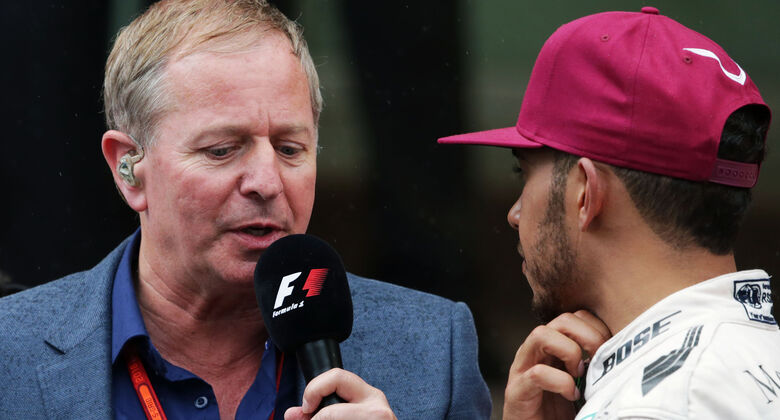 Martin Brundle - GP Monaco 2016