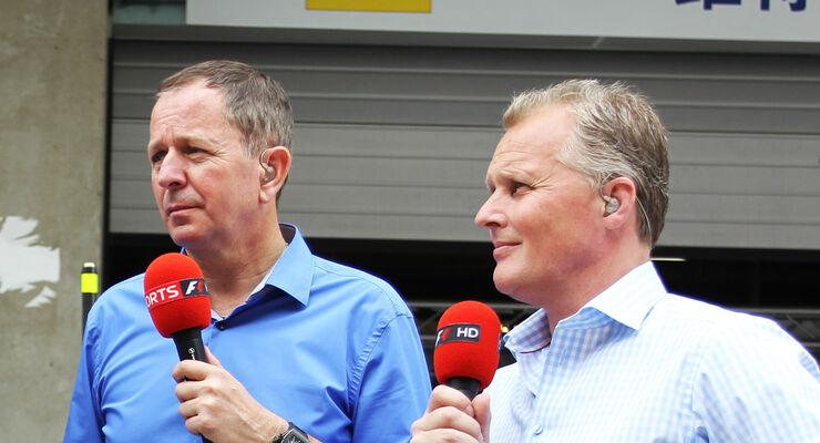 Martin Brundle & Johnny Herbert 2012