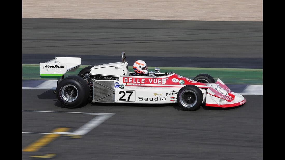 Martin Brundle - March 761 - Williams-Jubiläum - Silverstone - 2017