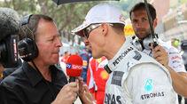 Martin Brundle, Michael Schumacher