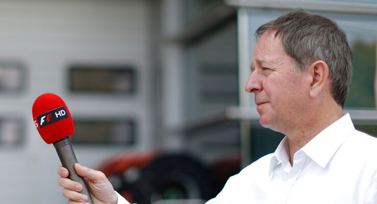 Martin Brundle - Sky F1 - TV Experte
