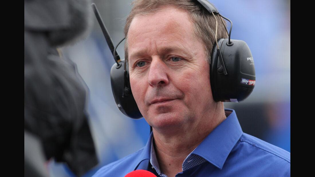 Martin Brundle - Sky - GP Australien - Melbourne - 16. März 2012