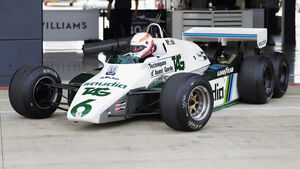 Martin Brundle - Williams FW08B - Williams-Jubiläum - Silverstone - 2017
