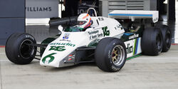 Martin Brundle - Williams FW08B - Williams-Jubiläum - Silverstone - 2017
