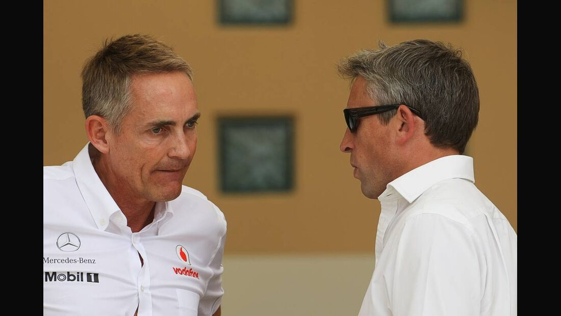 Martin Whitmarsh - Formel 1 - GP Bahrain - 21. April 2012