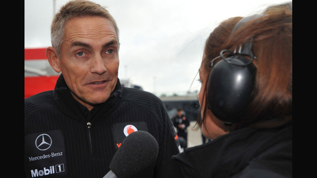 Martin Whitmarsh - GP England - Qualifying - 9. Juli 2011