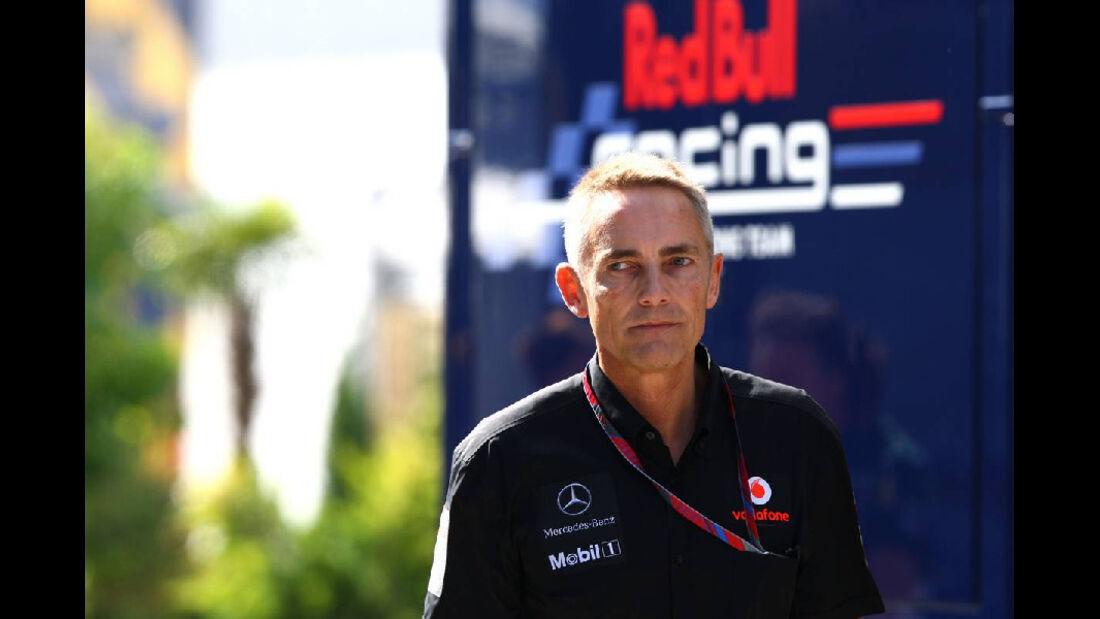 Martin Whitmarsh - GP Ungarn - Formel 1 - 30.7.2011