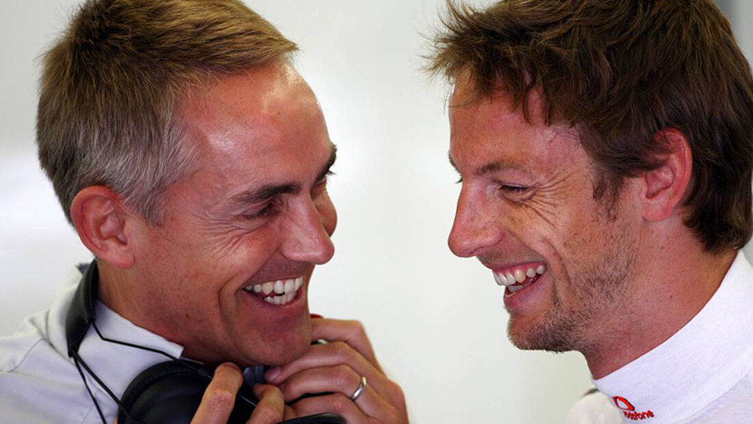 Martin Whitmarsh Jenson Button