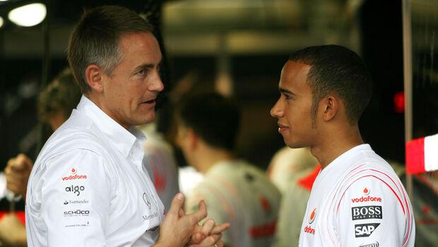 Martin Whitmarsh & Lewis Hamilton - F1 - 2007