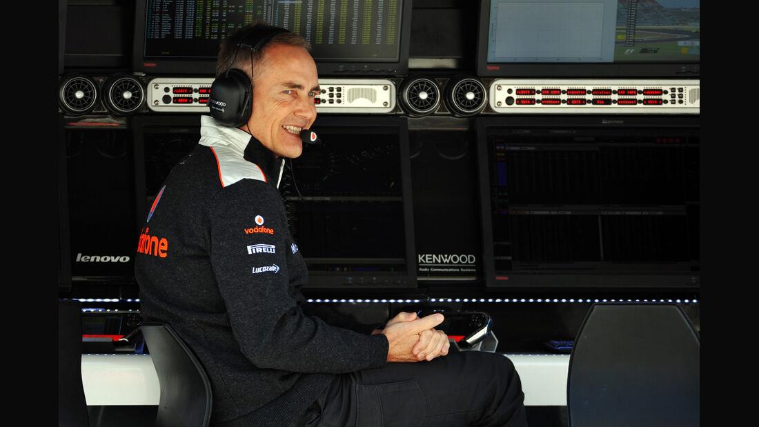Martin Whitmarsh - McLaren - Formel 1 - GP USA - Austin - 16. November 2012