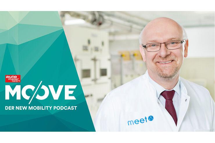 Moove (58) - Prof. Martin Winter - MEET Vergleich zwischen Wasserstoff und der Lithium-Batterie ist unfair