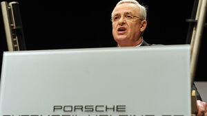 Martin Winterkorn Porsche Hauptversammlung