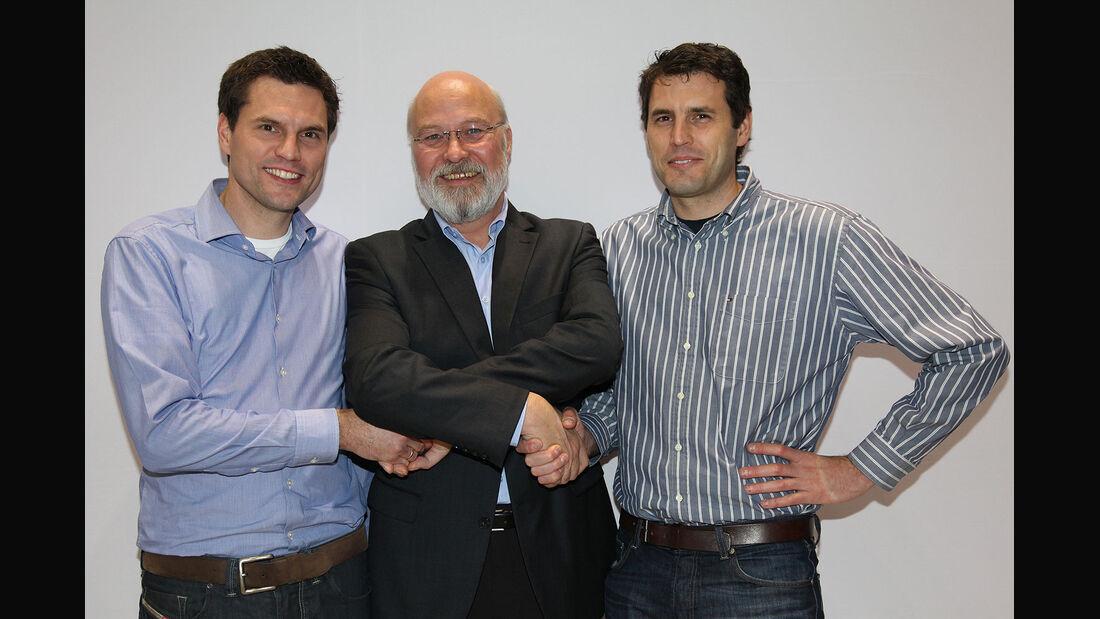 Martin und Nicolas Raeder, Olaf Manthey
