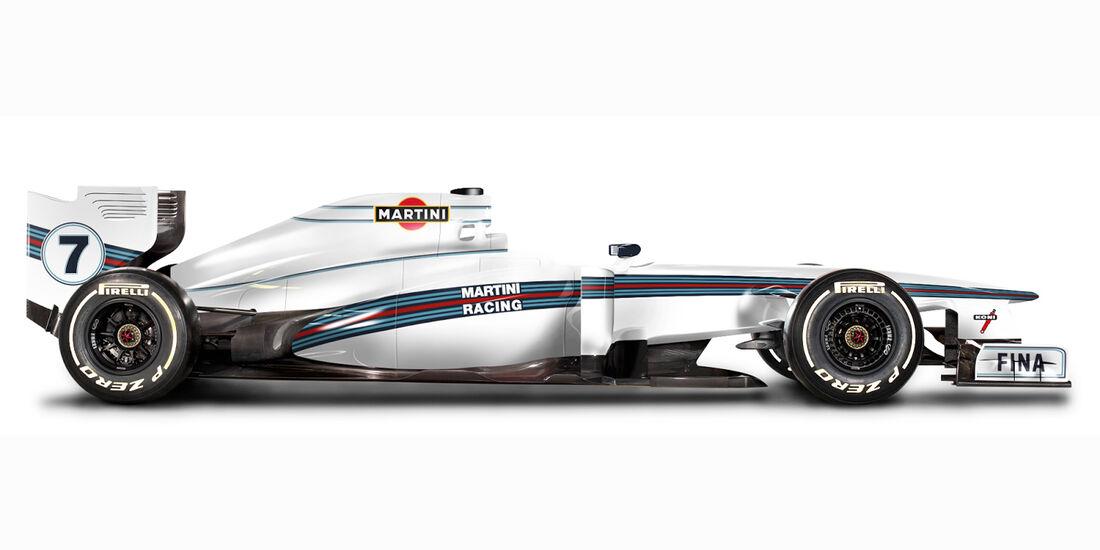 Martini Racing Look - Retro F1