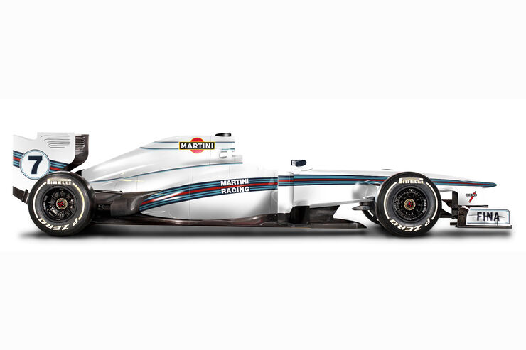 Martini Racing Look - Retro F1