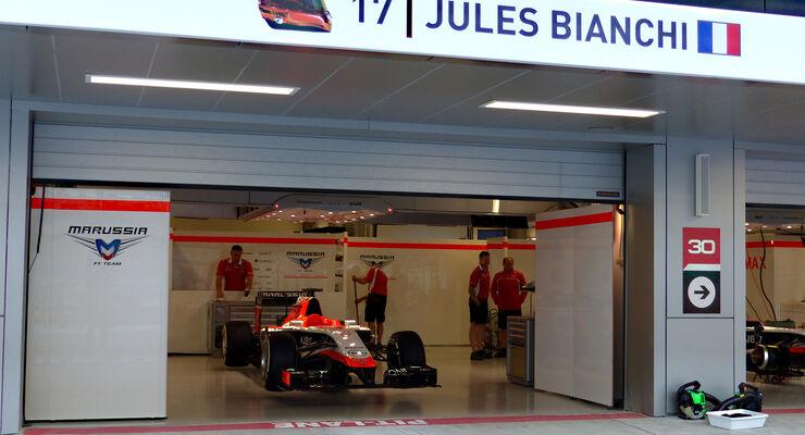 Marussia - Bianchi - GP Russland 2014