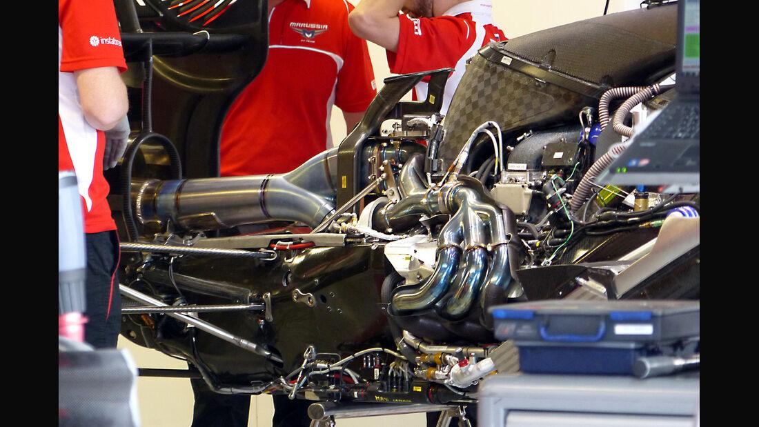 Marussia - F1 Motor 2014